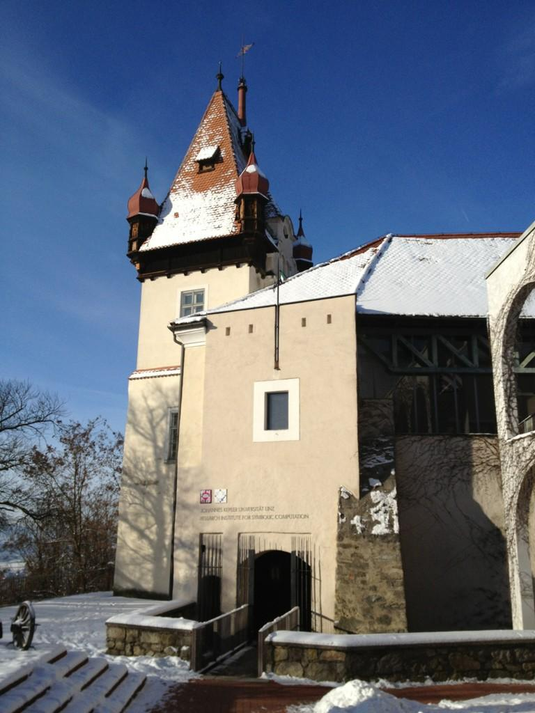 Castle of Hagenberg, home of RISC